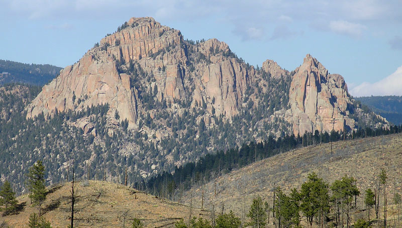 South Platte Cathedral Spires Area photo