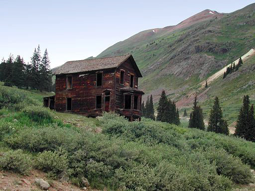 Animas Forks mining town home