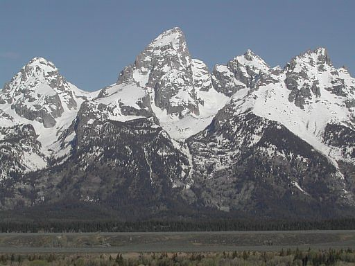 The Grand Teton, Teton National Park, Wyoming, Memorial Day weekend, 2003