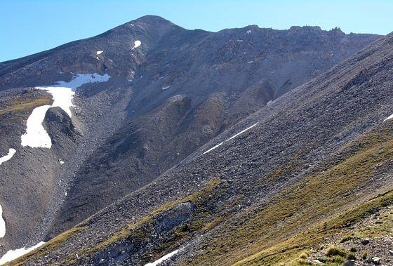 West side of Mount Antero and the south ridge, taken from the West Slopes approach