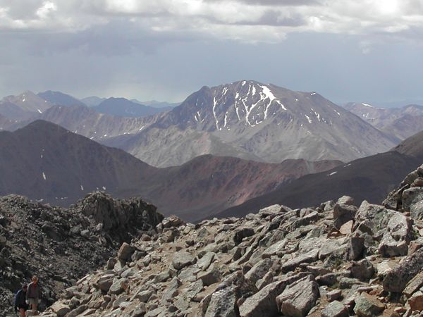 The North Face of La Plata Peak, as seen from Mount Massive
